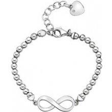 Hot Diamonds stříbrný náramek Infinity Bead DL528