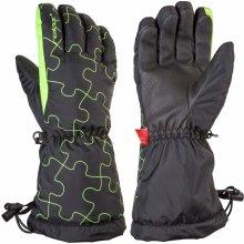369d561fb39 Relax Puzzy - junior lyžařské rukavice černá