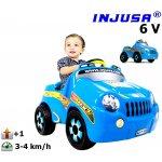 BIG Injusa elektrické autíčko KID 6V 715
