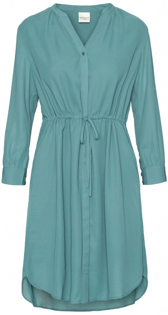 fa761e28b02 Selected dámské šaty Damina modrá