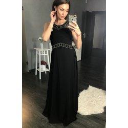 a03d52ee696 Eva   Lola luxusní dlouhé plesové šaty černá od 2 299 Kč - Heureka.cz