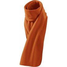 Šála fleecová Scarf New oranžová