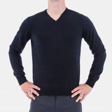 Armani Collezioni pulovr Tmavě modrý