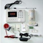 LCD Bezdrátový GSM alarm GSM01