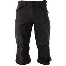 Surplus tříčtvrteční kalhoty Engineer Vintage černé