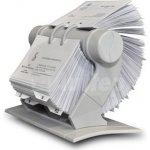 Auttep rotační pořadač na vizitky Rotacard světle šedý