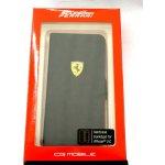 Pouzdro Ferrari Rubber Book Samsung i9195 Galaxy S4 mini černé