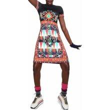 Desigual barevné šaty Josephinne 18WWVK48 barevná 21826db9d1