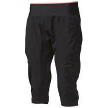 Progress Sahara 3Q dámské 3/4 kalhoty černá/losos