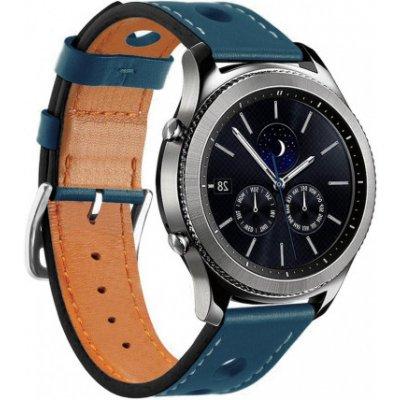 Samsung Gear S3 Leather Italy řemínek, Blue SSG009C04
