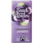 Seed and Bean čokoláda hořká s levandulí 72% 85g