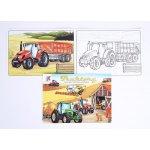 Omalovánky Lux Traktory