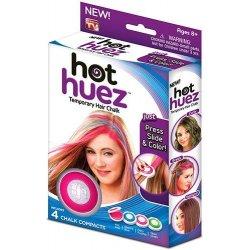 Hot Huez barevné křídy na vlasy