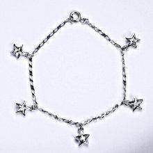 Swarovski čirými krystaly, hvězda, R 1326