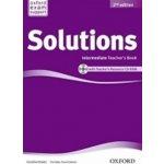 Maturita Solutions 2nd Edition Intermediate Teacher´s Book with CD-ROM Pack