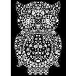 Omalovánka semišová Owl