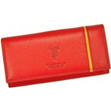 Harvey Miller Polo Club dámská kožená peněženka 5313 PL11 červená