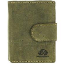 Greenburry Kožená peněženka 321-30 olivová