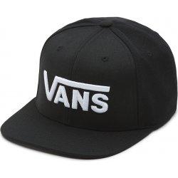 Kšíltovka Vans Drop V II Snapback Boys black white 18 6e26f8325b