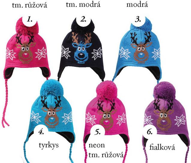 Dětská čepice Pletex H078 dětská pletená zimní čepice - Seznamzboží.cz 196dcd677a