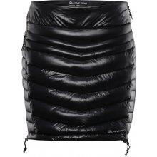 Alpine Pro dámská zateplená mini sukně Trinity LSKH037990 černá