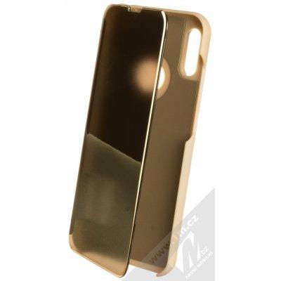 Pouzdro 1Mcz Clear View Huawei Y6 Prime 2019, Y6s, Honor 8A zlaté