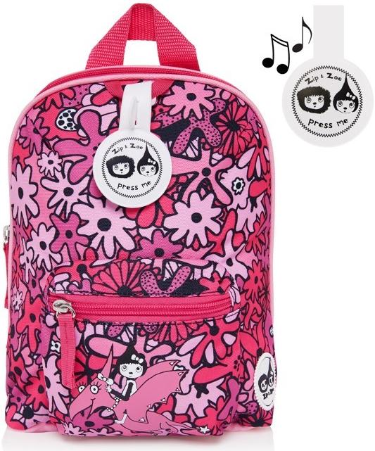 fc2922edacc Recenze Babymel batoh Zip a Zoe Floral pink 7515 - Heureka.cz