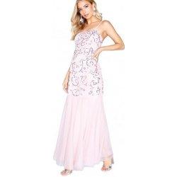 e4194dd893f2 Little Mistress luxusní maxi šaty na ples růžová alternativy ...