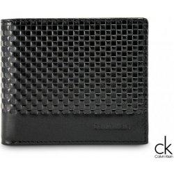 Pánská kožená peněženka CALVIN KLEIN černá alternativy - Heureka.cz 98405f4fe1f