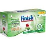 Recenze Finish 0 % tablety do myčky nádobí 162 ks