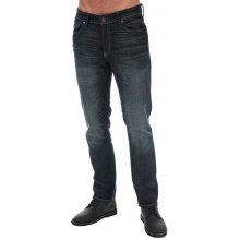 d49714d2 Jack Jones Mens Clark Original AM836 Straight Leg Jeans Denim