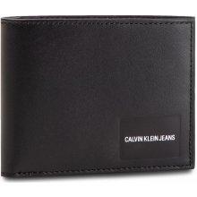 Calvin Klein Jeans Coated Canvas Billfold W Coin K40K400836 Černá 2329101143e