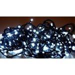LED vánoční řetěz studená bílá S ČASOVAČEM 32438 – délka 18 m, IP44 pro venkovní i vnitřní použití