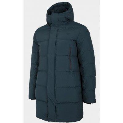 4F pánský péřový kabát D4Z20 KUMP201 dark blue