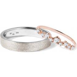 Klenota Zlate Snubni Prsteny Wk02542 Od 33 900 Kc Heureka Cz