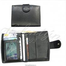 Arwel se zápinkou 511 9075 dámská kožená peněženka černá