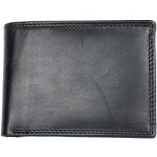 Celá kožená peněženka z měkké kvalitní kůže bez značek a nápisů