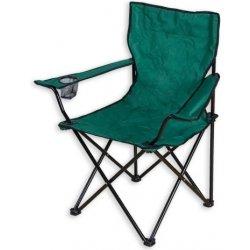 Zahradní židle a křeslo Skládací kempingová židle zelená , P1512