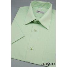 Avantgard Klasik pánská košile s kr.ruk. V8-zelená 351-8-40/182