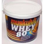 Muskulvit Whey 80% 900 g