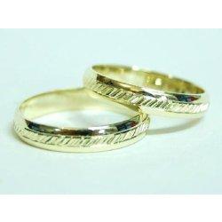 Zlate Snubni Prsteny Ryte 0024 Alternativy Heureka Cz