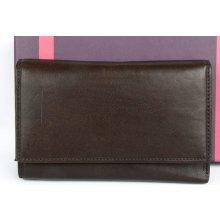 Italská velmi kvalitní kožená peněženka Il Giglio