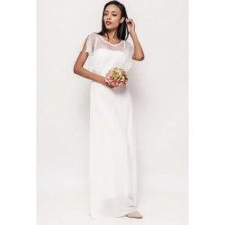 Dámské dlouhé společenské šaty s krajkovým volánem Catherine 490cbf01dc
