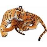 Lena Toys Velký plyšový tygr hnědý 140 cm