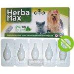 Herba Max Spot-On anti. pro psy, kočky 5 x 1 ml