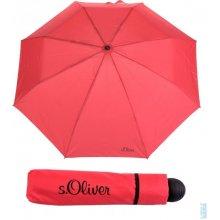 Deštník skládací s.Oliver Fruit-Cocktail 70801SO19 - červená -RED, S´oliver