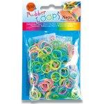 Loops Gumičky Rubber 500 ks mix barev
