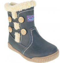 e8e6a4a20d3 Beppi Dívčí zimní boty - tmavě modré