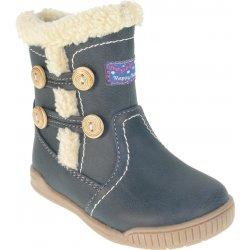 Beppi Dívčí zimní boty - tmavě modré od 349 Kč - Heureka.cz 47261385f5