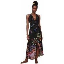 891ceef6952 Desigual maxi šaty Magda 19SWMW08 černá